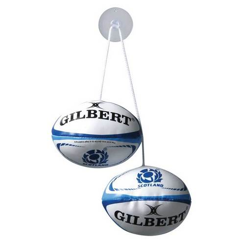 Scotland Rugby Car Dangle Set
