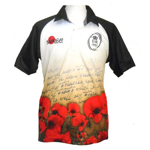 Army-Letter-Home-Poppy-Rugby-Shirt