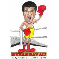 Main Image for: Muhammad Ali (2nd edition) Caricature