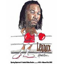 Main Image for: Lennox Lewis Caricature