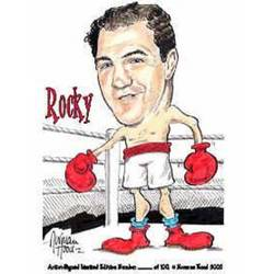 Main Image for: Rocky Marciano Caricature