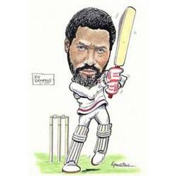 Main Image for: Viv Richards Caricature