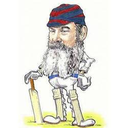 Main Image for: WG Grace Caricature