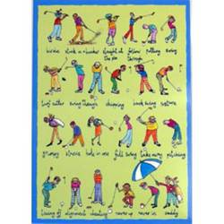 Main Image for: Golfers Greeting Card
