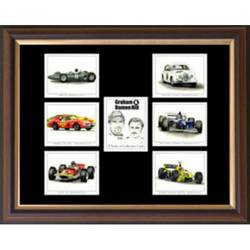 Main Image for: Graham & Damon Hill Framed Cigarette Card Set
