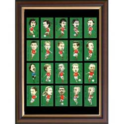 Main Image for: Famous Arsenal Players Framed Cigarette Card