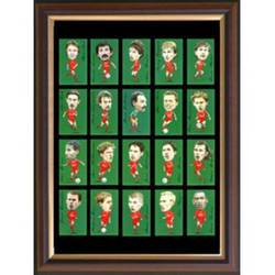 Main Image for: Famous Liverpool Players Framed Cigarette Car