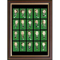 Main Image for: Famous Newcastle Players Framed Cigarette Car