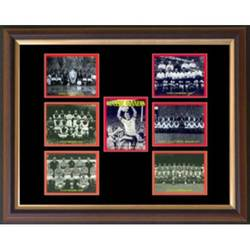 Main Image for: Classic Gunners Framed Cigarette Card Set