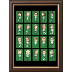 Main Image for: Famous Tottenham Players Framed Card Set