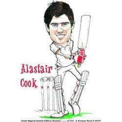 Main Image for: Alastair Cook Caricature