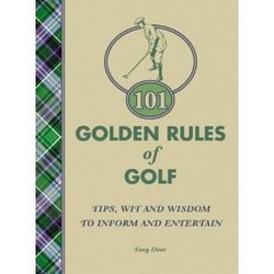 Main Image for: 101 Golden Rules of Golf Book