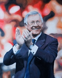 Main Image for: Sir Alex Ferguson Print by Jody Craddock