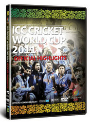 Main Image for: ICC Official Highlights of Cricket World Cup 2011 DVD