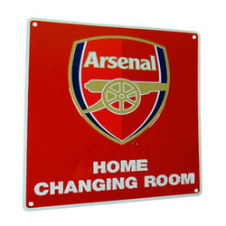 Main Image for: Arsenal Home Changing Room Sign