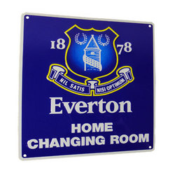 Main Image for: Everton Home Changing Room Sign
