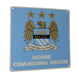 Main Image for: Manchester City Home Changing Room Sign