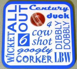 Main Image for: Cricket Text Coaster