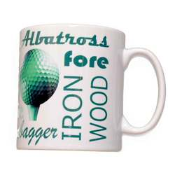 Main Image for: Golf Text Mug