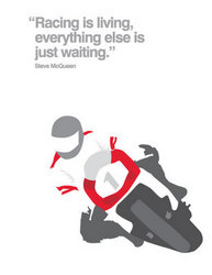 Main Image for: Motor Cycling Quote Greeting Card