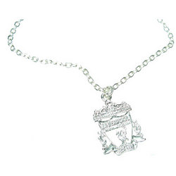 Main Image for: Liverpool Crest Silver Plated Pendant and Chain