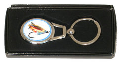 Main Image for: Fly Fishing Metal Keyring