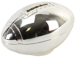 Main Image for: Rugby Ball Silver Plated Money Box