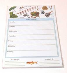 Main Image for: Fishing Weekly Planner