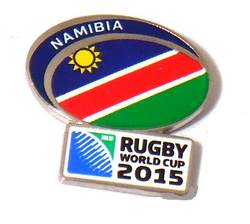 Main Image for: Namibia Rugby World Cup 2015 Pin Badge