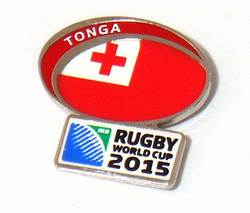 Main Image for: Tonga Rugby World Cup 2015 Pin Badge