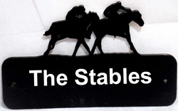 Main Image for: Personalised Horse Racing Sign Plate