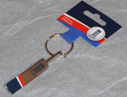 Main Image for: England Cricket Bat Bottle Opener Keyring