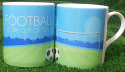 Main Image for: Football is My Cup of Tea China Mug