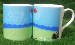 Main Image for: Golf is My Cup of Tea China Mug