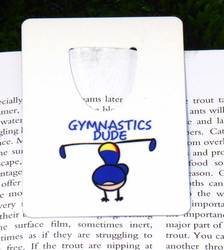 Main Image for: Gymnastics Dude Bookmark