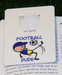 Main Image for: Football Dude Bookmark