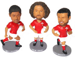 Alt Image for: Wales Rugby Player Bobble Head
