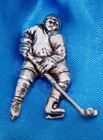 Image of: Ice Hockey Player Badge