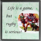 Image of: Rugby Is Serious Coaster