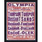 Image of: Olympia Boxing Poster 1949