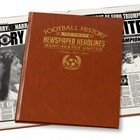 Image of: Commemorative Newspaper Book - Manchester Utd