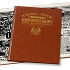 Image of: Commemorative Newspaper Book - Sheffield Wedn