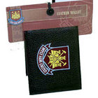 Image of: West Ham Embroidered Leather Wallet
