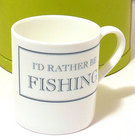 Image of: I'd rather be FISHING Mug