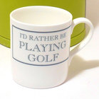 Image of: I'd rather be PLAYING GOLF Mug