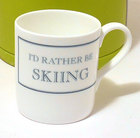 Image of: I'd rather be SKIING Mug