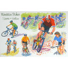 Image of: Mountain Bikes Greeting Card