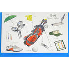Image of: Golf Greeting Card