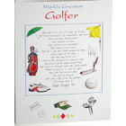 Image of: Worlds Greatest Golfer Greeting Card