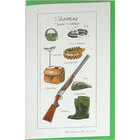 Image of: Shooting Bookmark Greeting Card